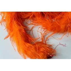 Pióra strusie BOA pomaranczowe