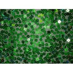 Zielona siatka z zielonymi...