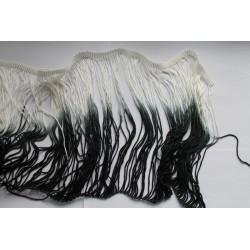 Biało(ecru)-czarne 20cm